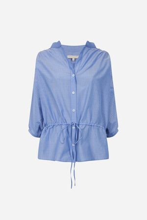 Cotton and silk Ivia blouse