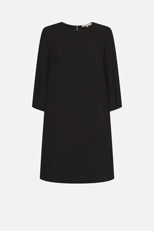 Light satin-backed crepe Isai Dress