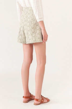 Embrodered Iala Shorts