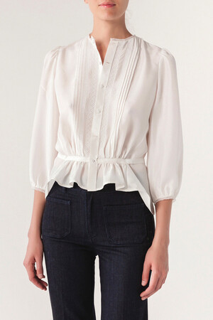 Silk Isaie Blouse