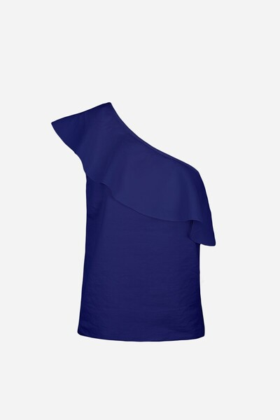 Seersucker viscose IZIO Top Vanessa Bruno