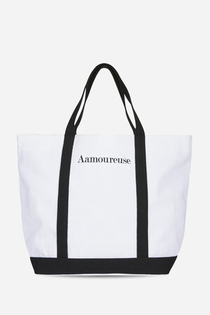 Aamoureuse Cotton Cabas Tote Bag