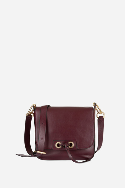 Calfskin Leather Charly Flap Bag
