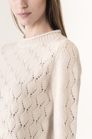 Wool and yack Josefao sweater