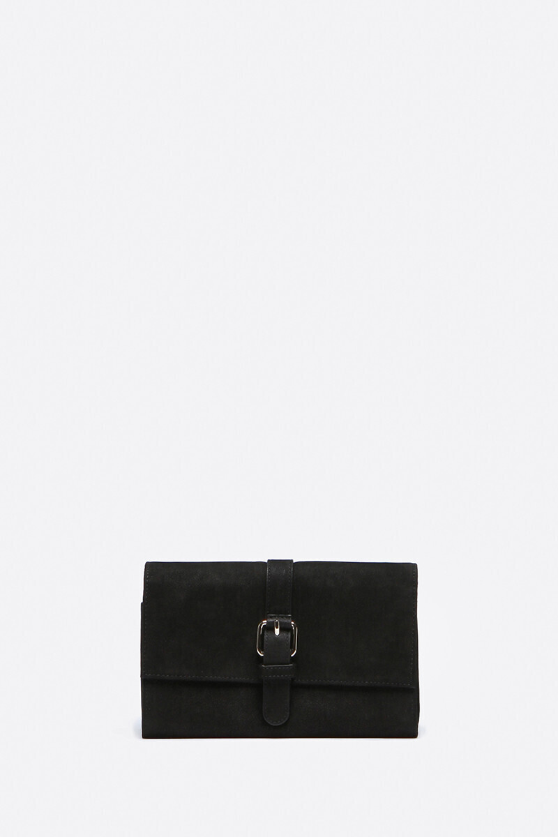 Calfskin Leather Lune Wallet Black alt_par_VB
