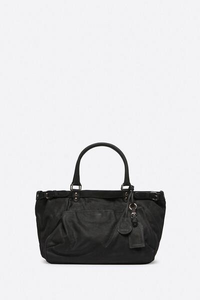 Calfskin Leather Lune Bag